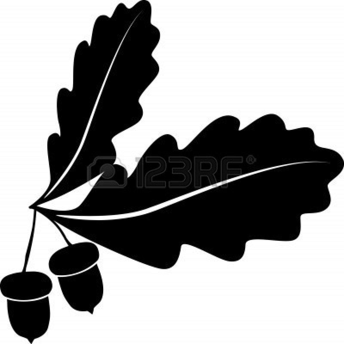 Oak Leaf Silhouette | Clipart Panda - Free Clipart Images
