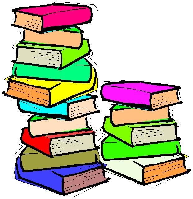 Tall Stack Of Books Clipart | Clipart Panda - Free Clipart Images