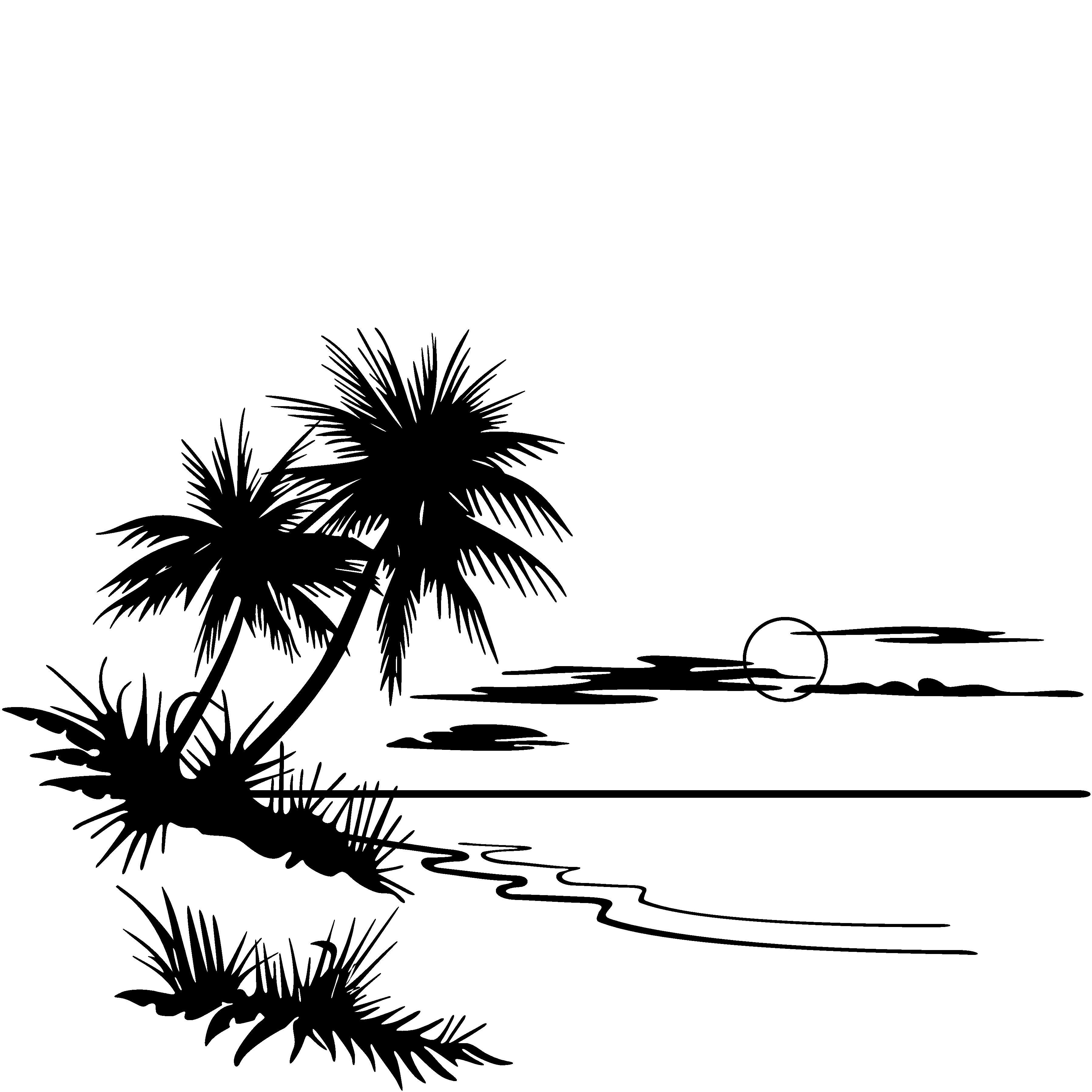 Ocean Clipart Black And White | Clipart Panda - Free ...