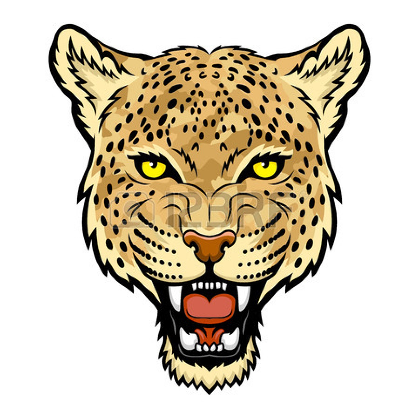 a leopard head clipart clipart panda free clipart images rh clipartpanda com Leopard Mascot Clip Art leopard head clip art logo