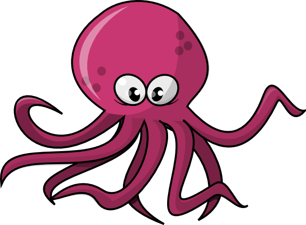 Image result for octopus clipart