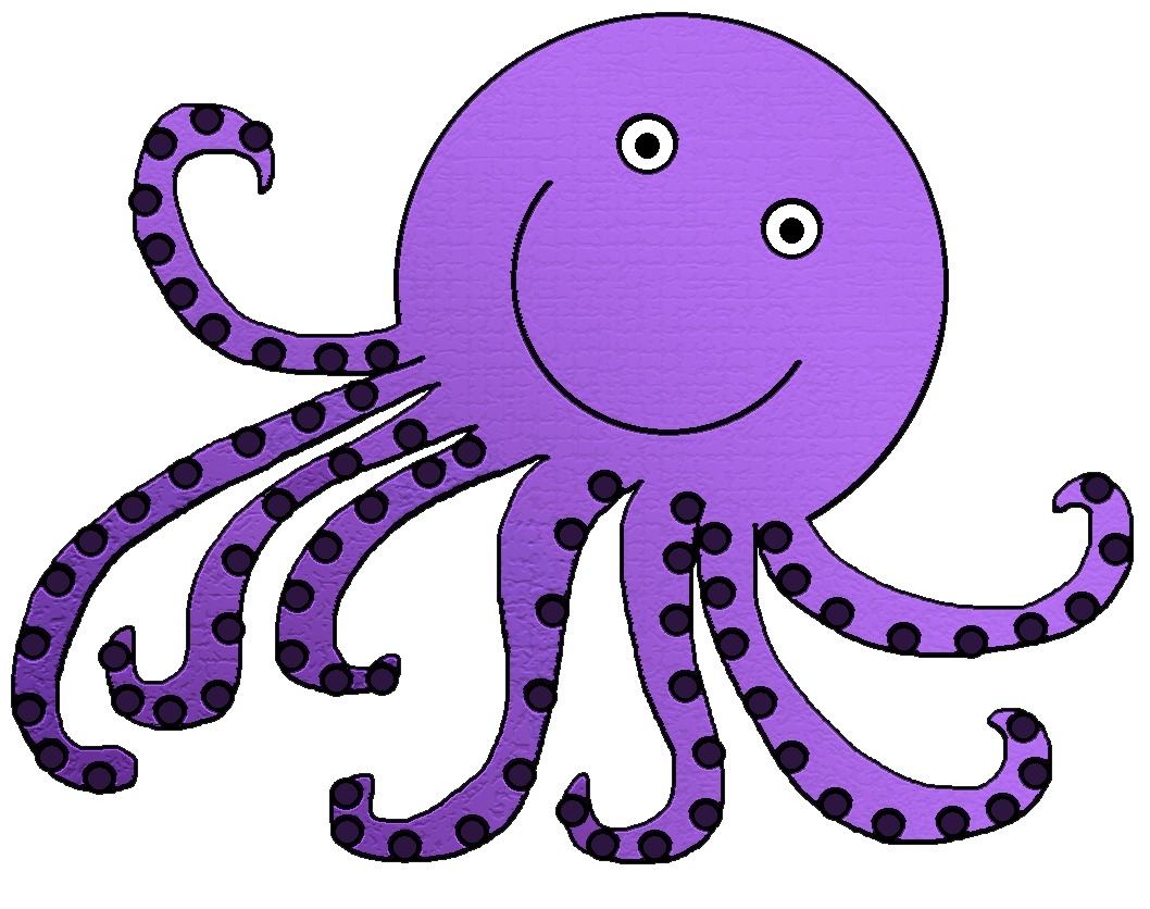 Octopus Clip Art Black And White | Clipart Panda Free Clipart Images