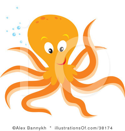 Octopus Clipart Black And White | Clipart Panda - Free Clipart Images