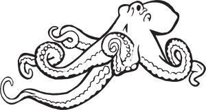 octopus%20clipart%20black%20and%20white