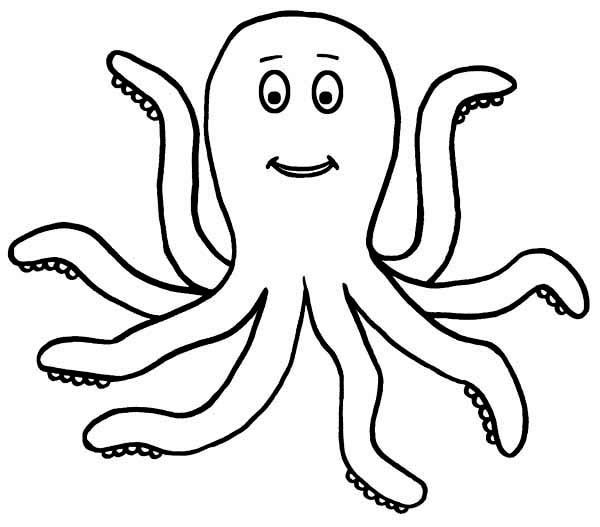O Octopus Coloring Page do octopuses drawings ...