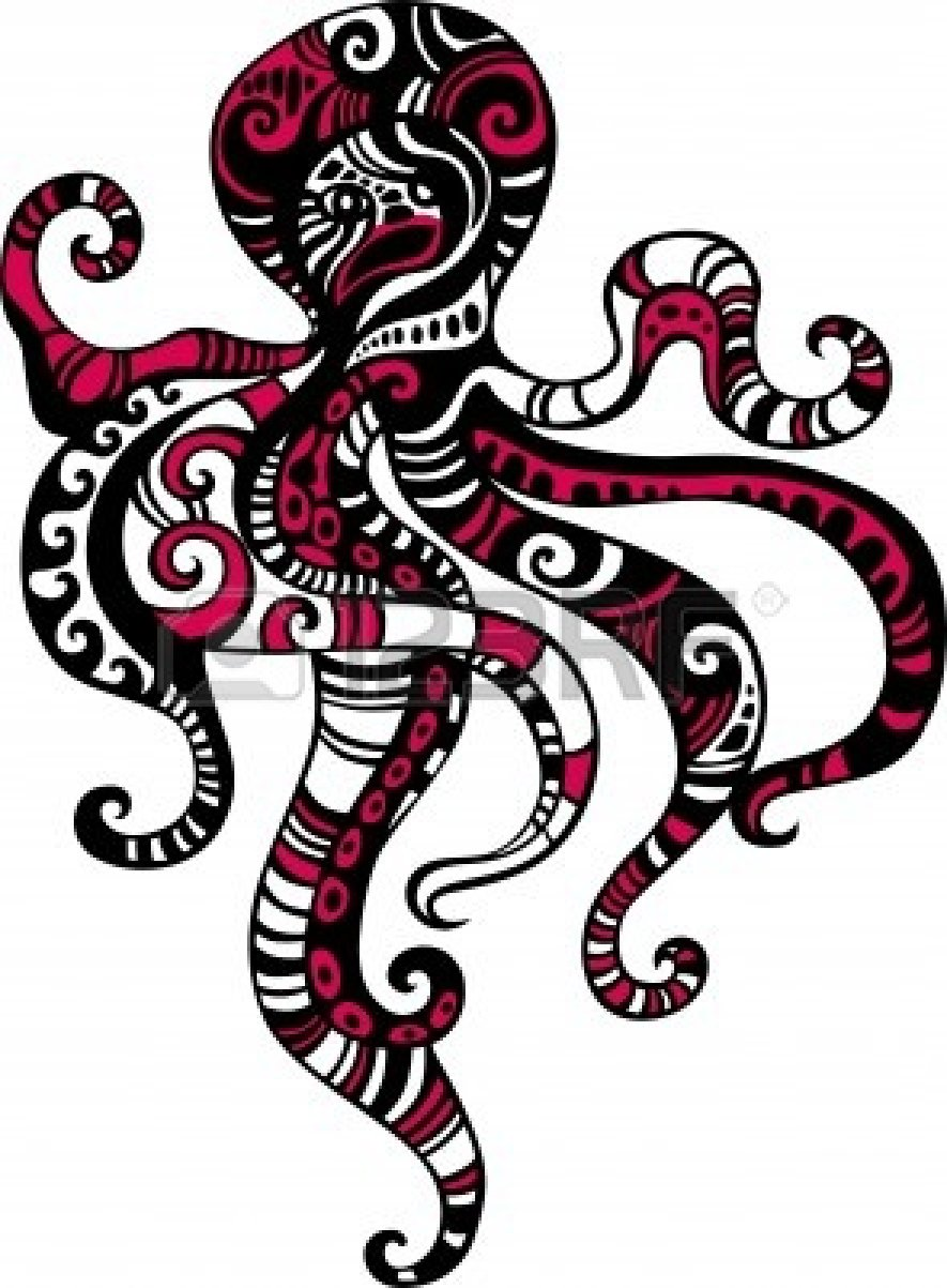 octopus Stock Vector - 9988335 | Clipart Panda - Free ...