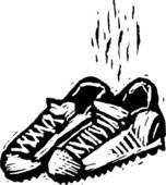 Stinky Tennis Shoe
