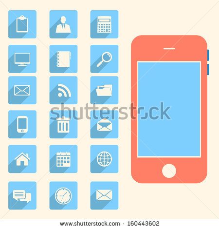 smart phone and business, | Clipart Panda - Free Clipart Images