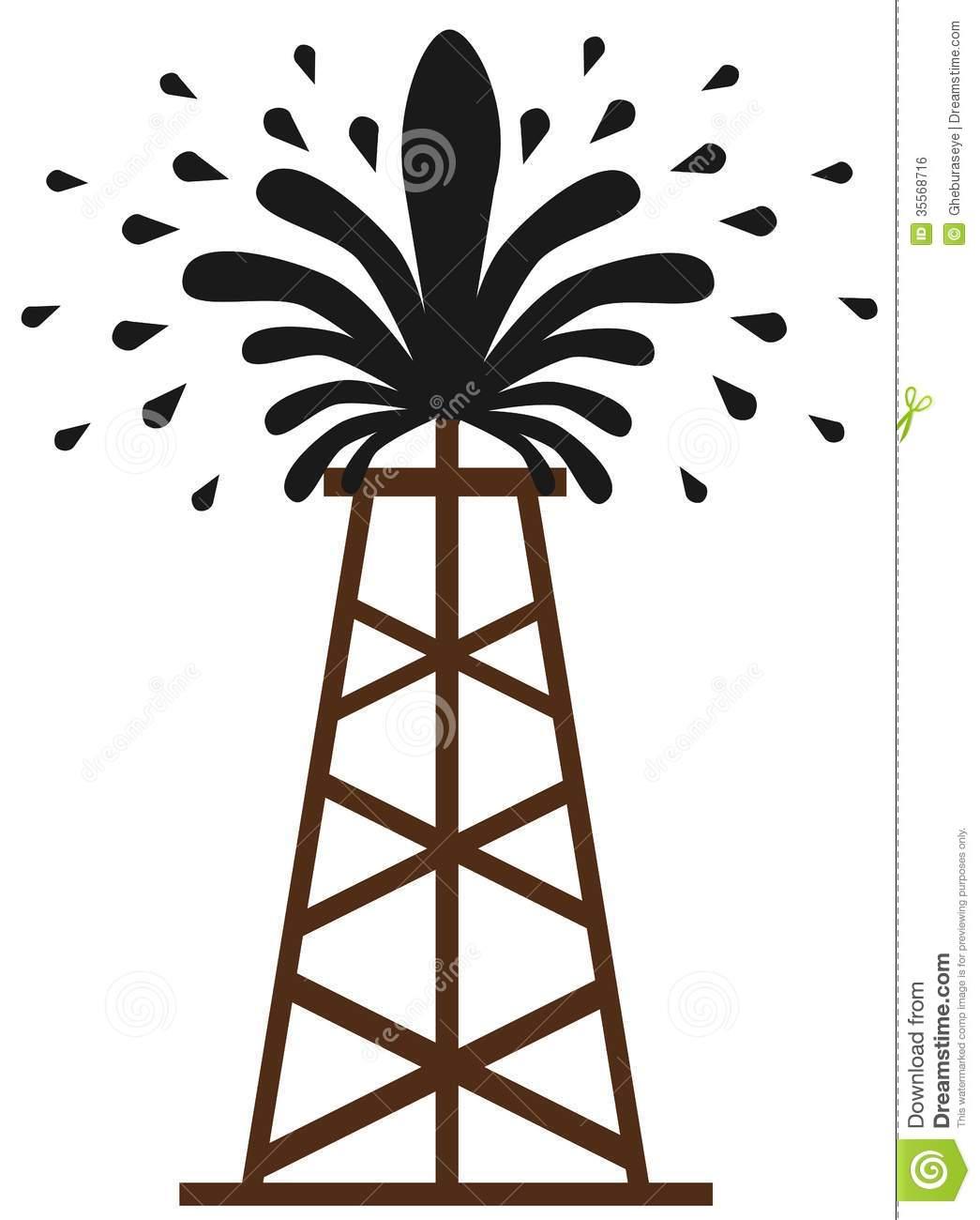 oil-clip-art-stylized-gusher-image-representing-spray-oil-35568716 jpgOil Well Gusher