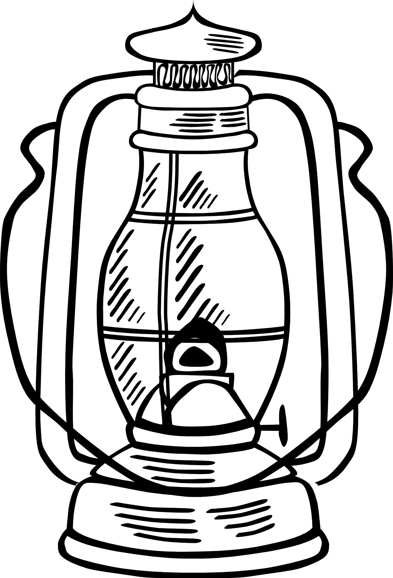 Oil Lamp Clipart Black And White | Clipart Panda - Free Clipart Images