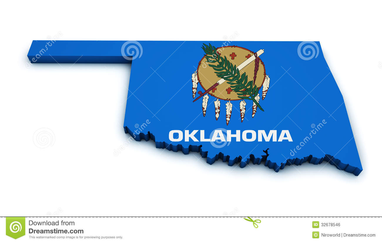 Oklahoma Clip Art Map | Clipart Panda - Free Clipart Images
