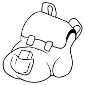 Backpack Hand Drawn Backpack Clipart Panda Free