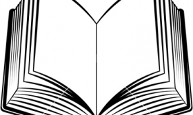 Open Book Clip Art Template