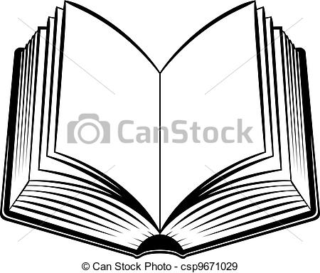 open%20book%20clipart%20black%20and%20white
