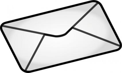 Open Envelope Clipart