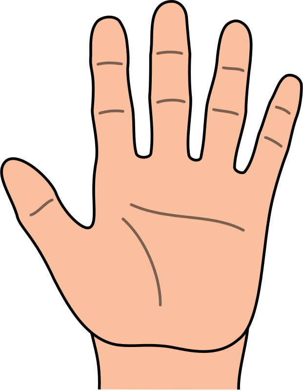 Free Cartoon Hands Clipart
