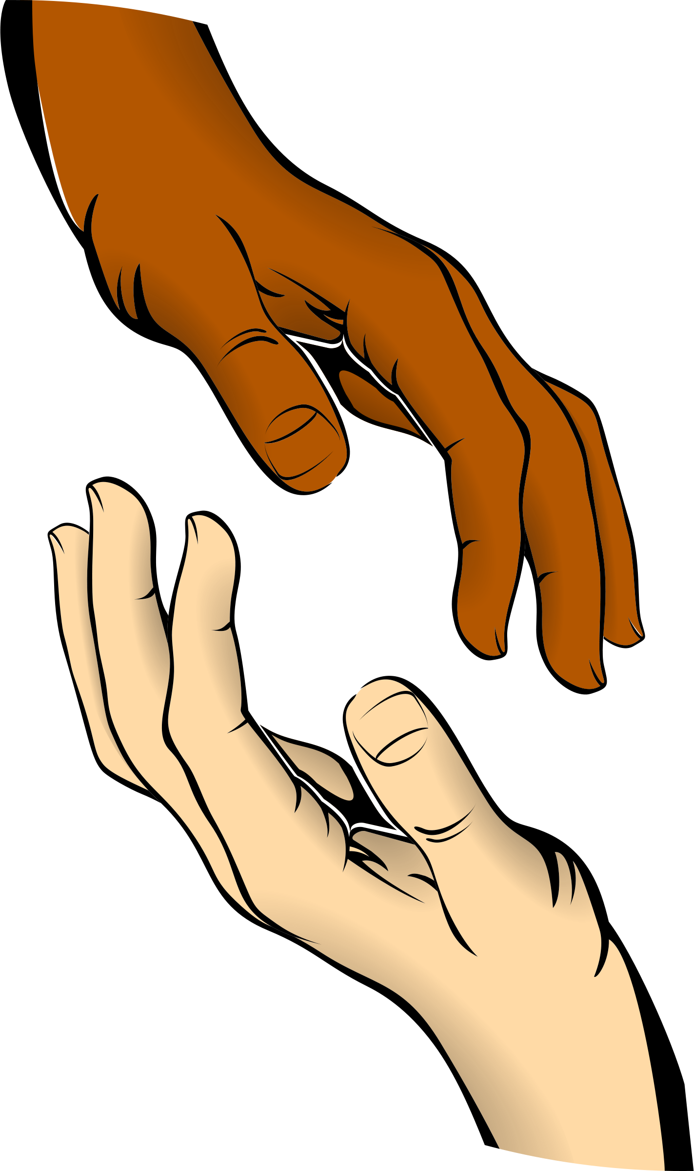 Open Hand Clipart | Clipart Panda - Free Clipart Images