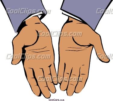 open hand clipart clipart panda free clipart images rh clipartpanda com open praying hands clipart open hands clipart free