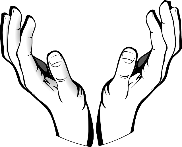 Receiving Hands Clipart