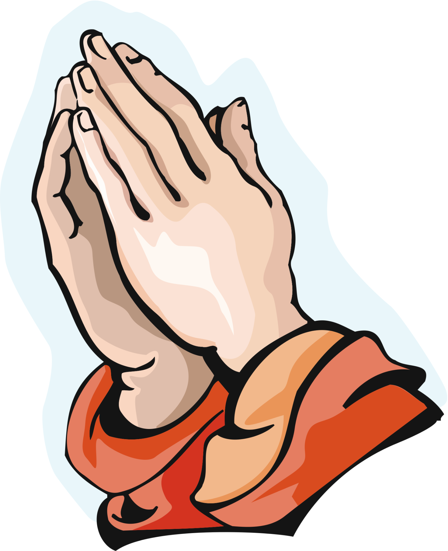 Open Praying Hands Clipart | Clipart Panda - Free Clipart ...