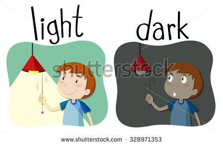 opposition of light and dark in That is the exact time dark forces opposition is a trick of the dark by holly burger whether you believe in a battle between dark and light or not.