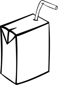 Milk Carton Clipart Black And White | Clipart Panda - Free Clipart ...