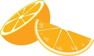 orange slice clipart clipart panda free clipart images rh clipartpanda com Orange Wedge Clip Art Orange Half Circle Clip Art