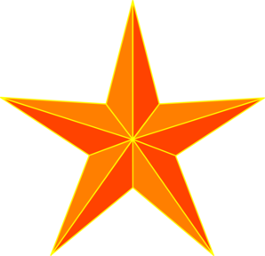 Orange Stars Clipart | Clipart Panda - Free Clipart Images