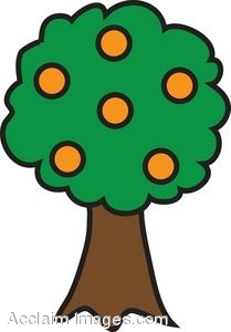 Orange Tree Clipart   Clipart Panda - Free Clipart Images