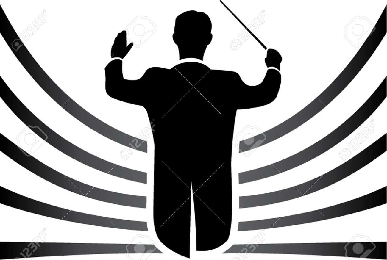 orchestra clipart clipart panda free clipart images music conductor clipart conductor clipart black and white