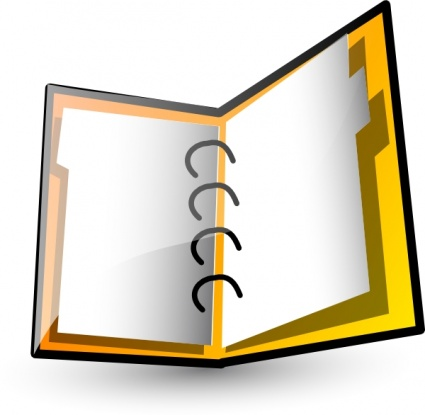 Organized Binder Clipart Organization Cl...