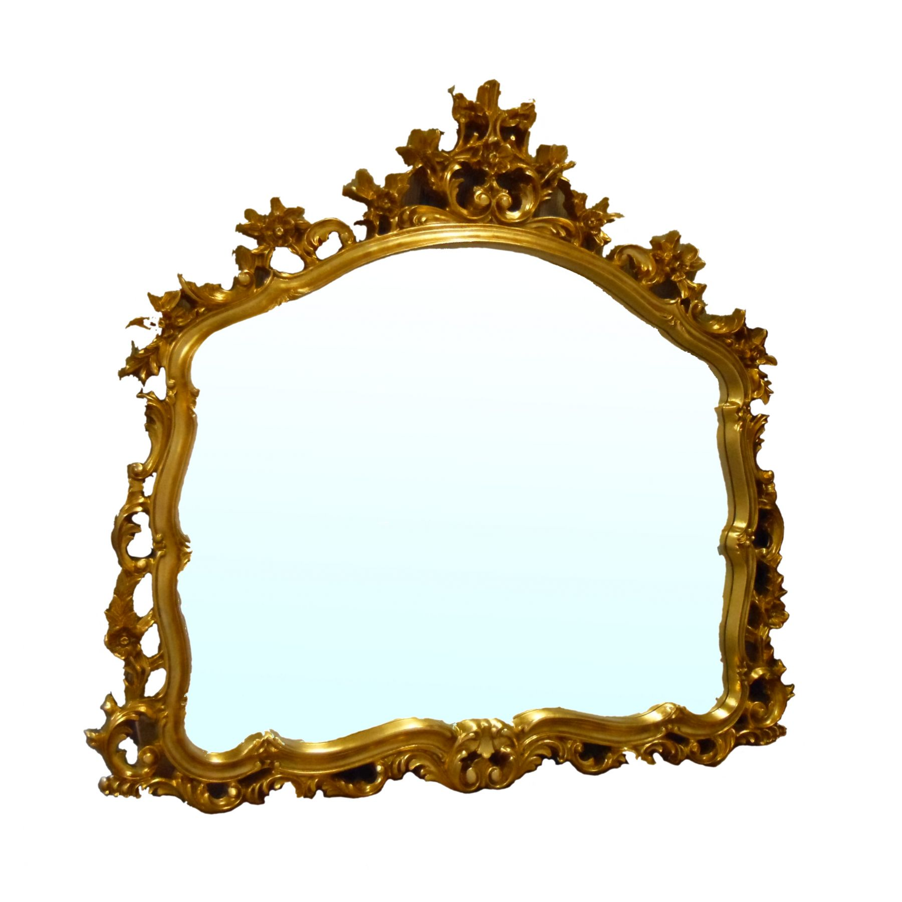 Buy Ornate Gold Framed Mirror | Clipart Panda - Free Clipart Images