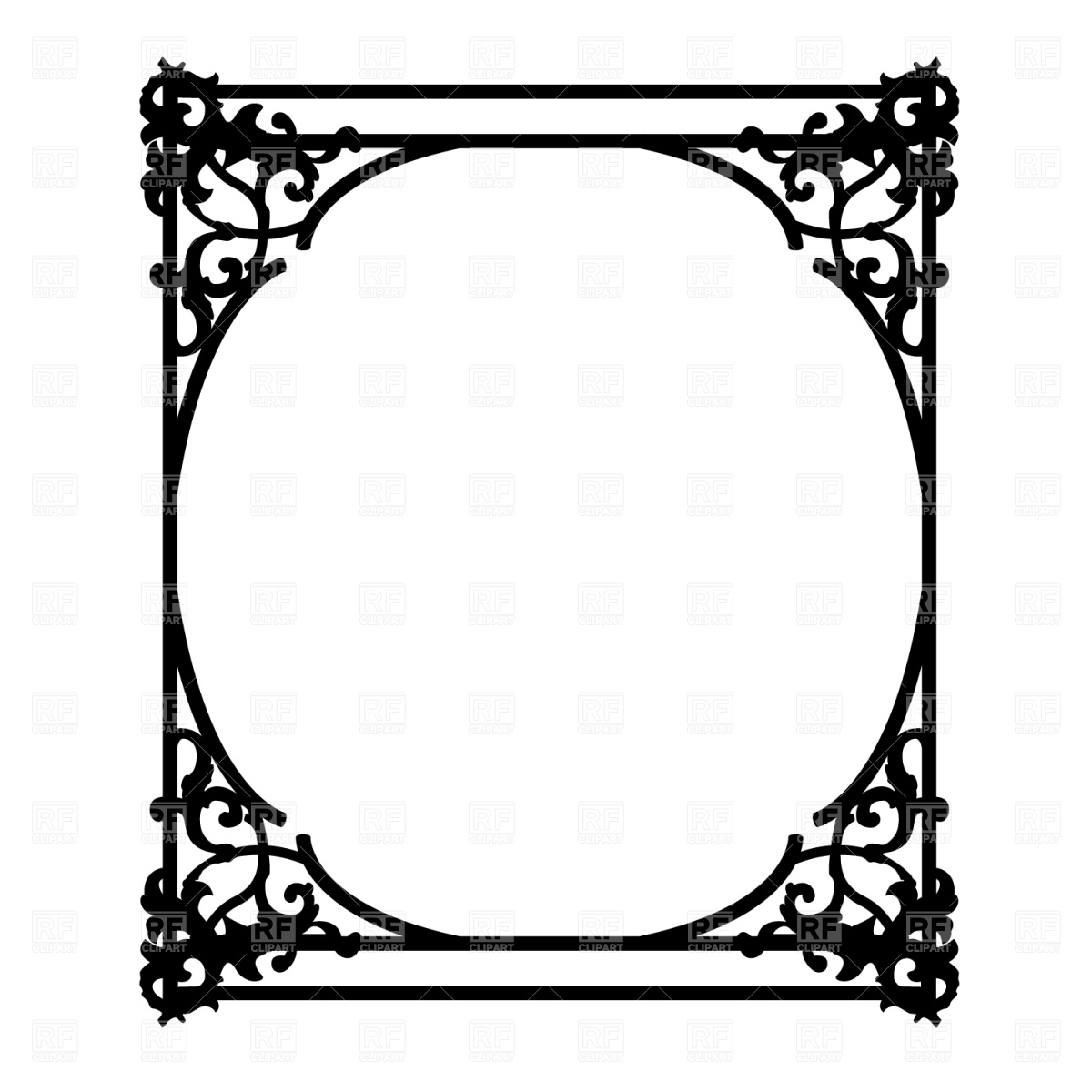 free clipart ornate frames - photo #1