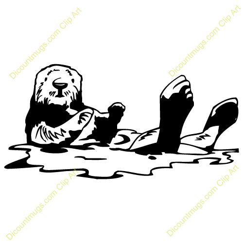 Otter Clip Art
