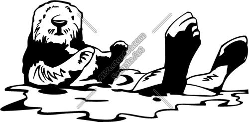 Otter Clipart