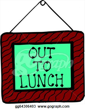 Out To Lunch Clipart | Clipart Panda - Free Clipart Images