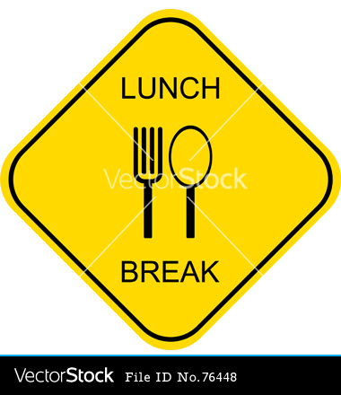 funny out to lunch signs