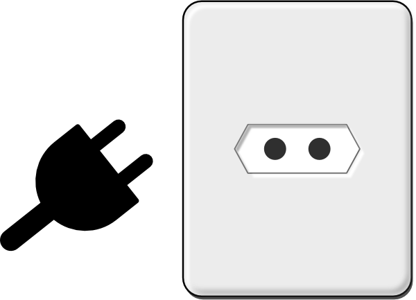 Clipart Electricity Free Electrical Outlet Plug Clipart