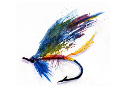 Fly fishing fly drawings - photo#15