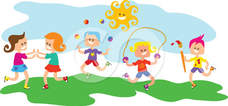 Clipart-Children-Playing- | Clipart Panda - Free Clipart ...