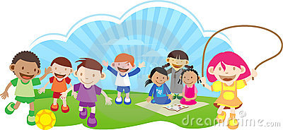Kids Playing Outside Clipart | Clipart Panda - Free ...