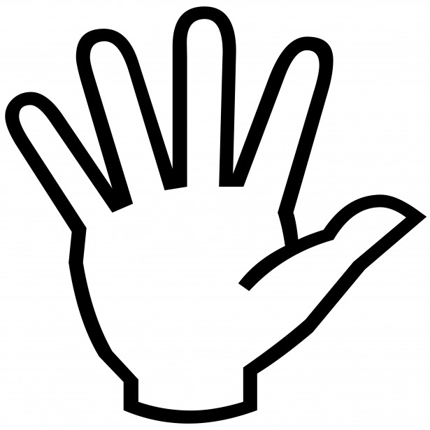 Outstretched Hand Clipart | Clipart Panda - Free Clipart ...