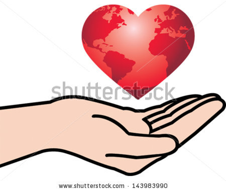 Holding Heart in Hand - stock | Clipart Panda - Free ...