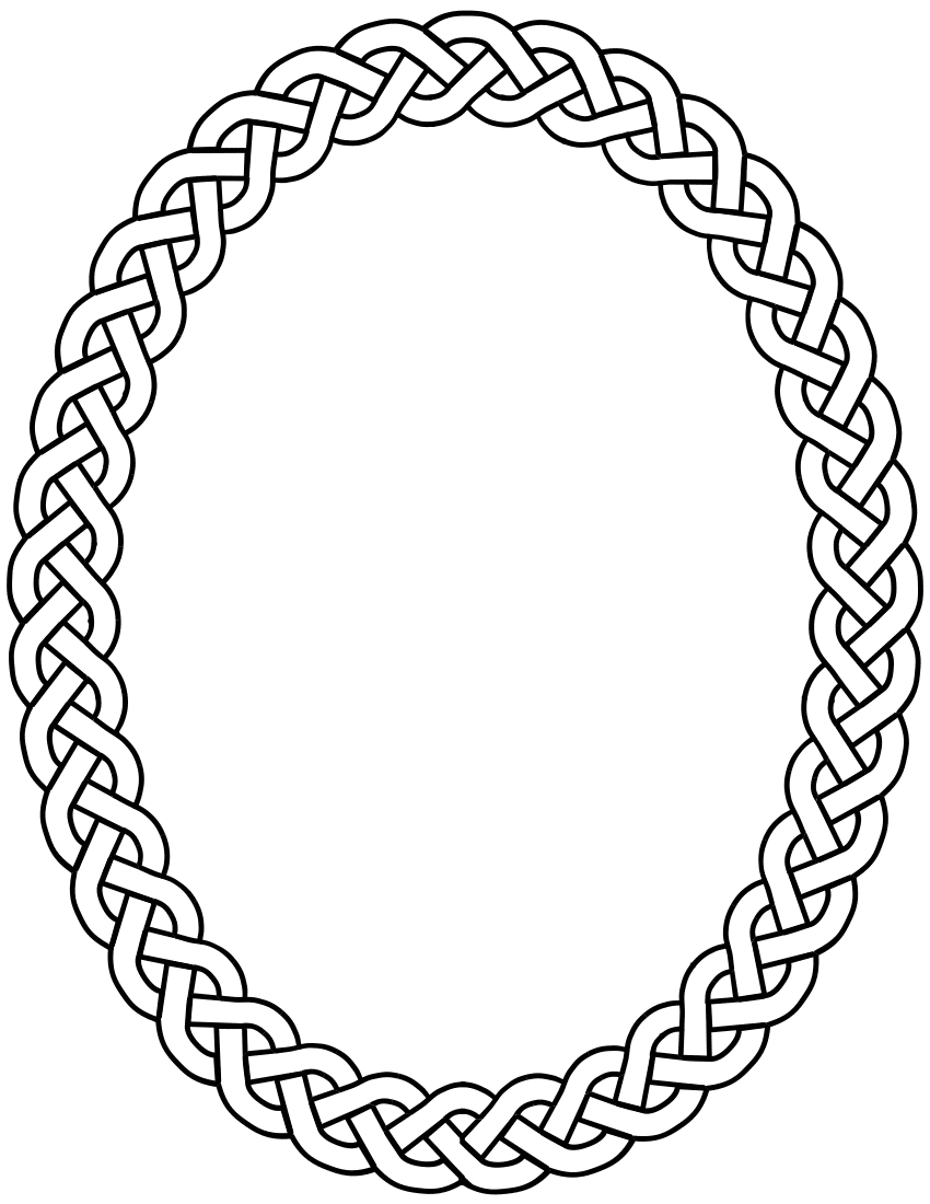 Oval Frame Clip Art | Clipart Panda - Free Clipart Images