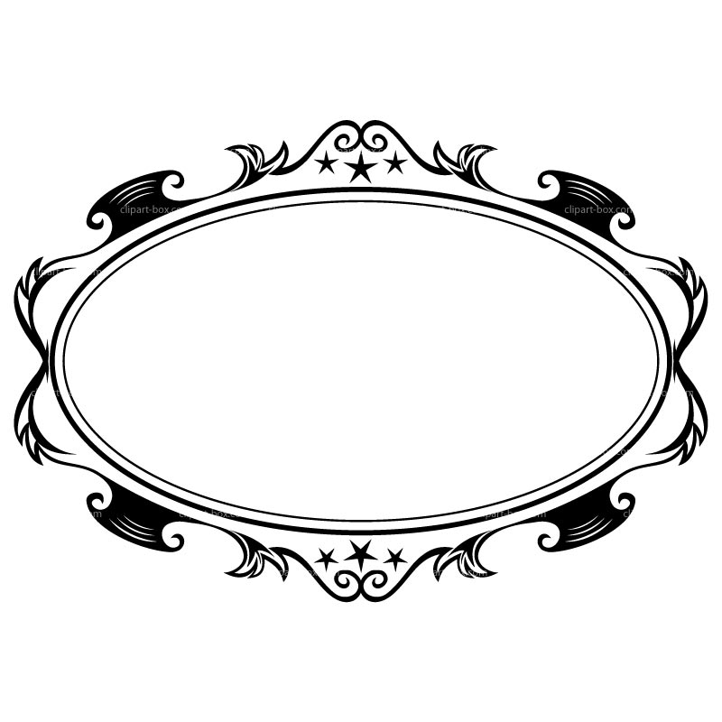 Oval Picture Frame Vector | Clipart Panda - Free Clipart ...