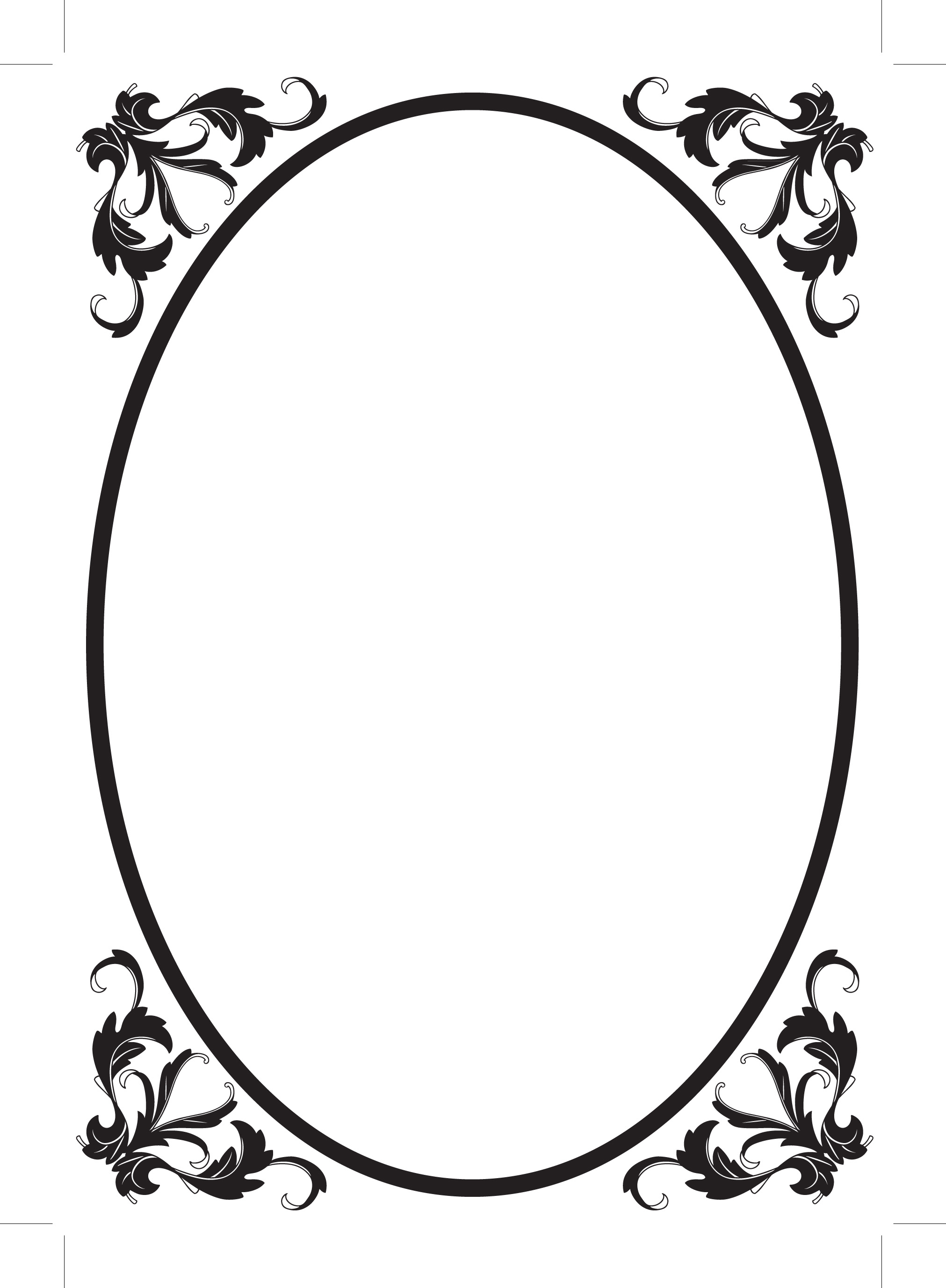 Oval Frame Clipart | Clipart Panda - Free Clipart Images