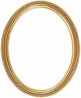 Oval Gold Frame Clip Art Clipart Panda Free Clipart Images