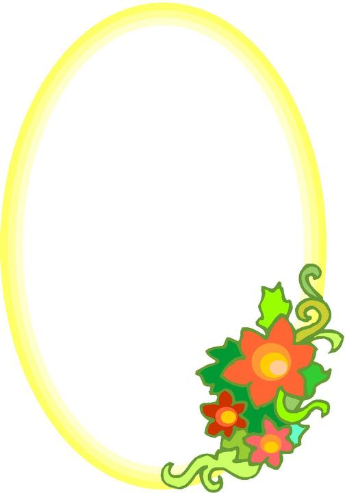 Oval Picture Frame Clip Art | Clipart Panda - Free Clipart Images