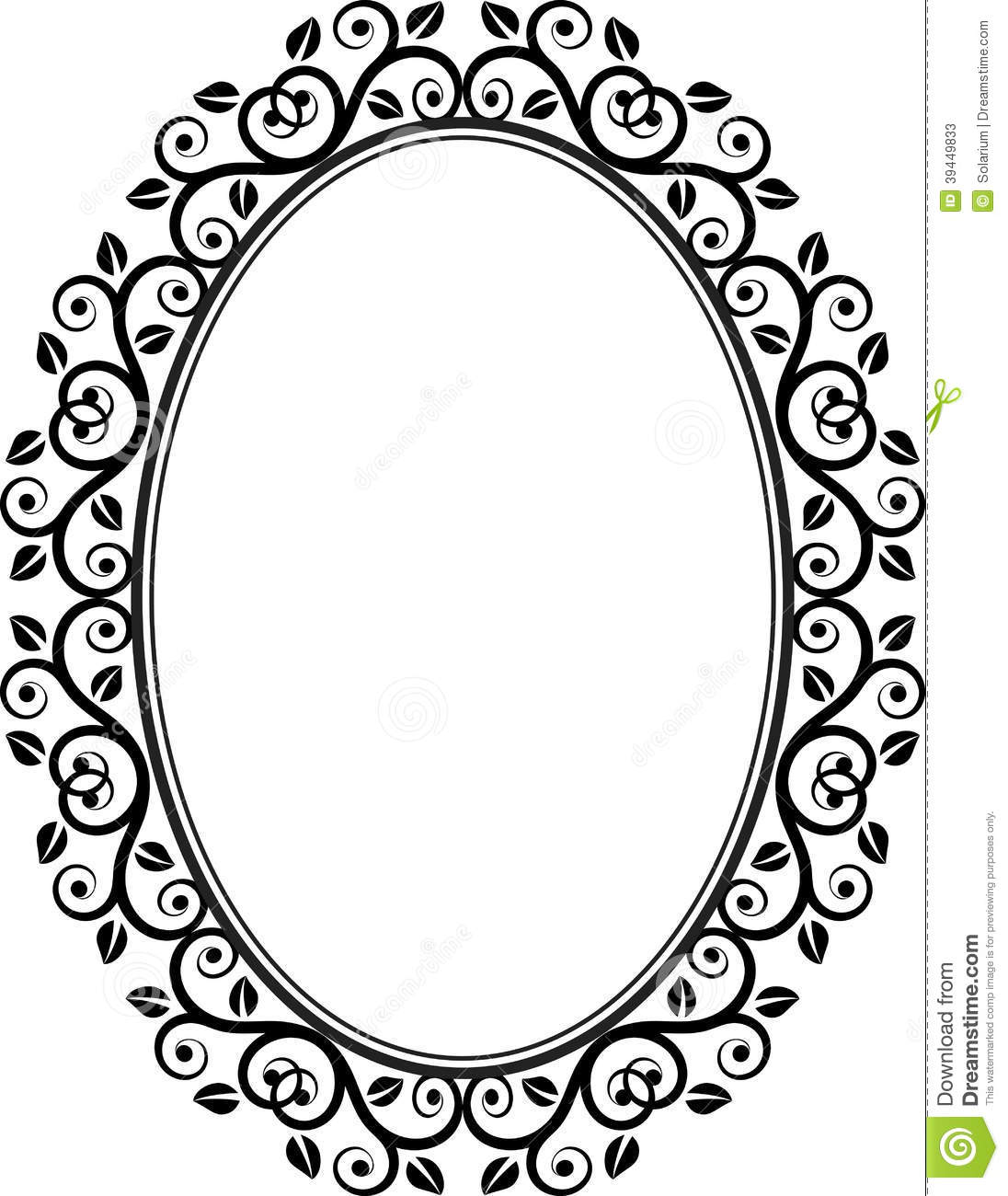 Oval picture frame vector clipart panda free clipart images - Cadre photo dessin ...