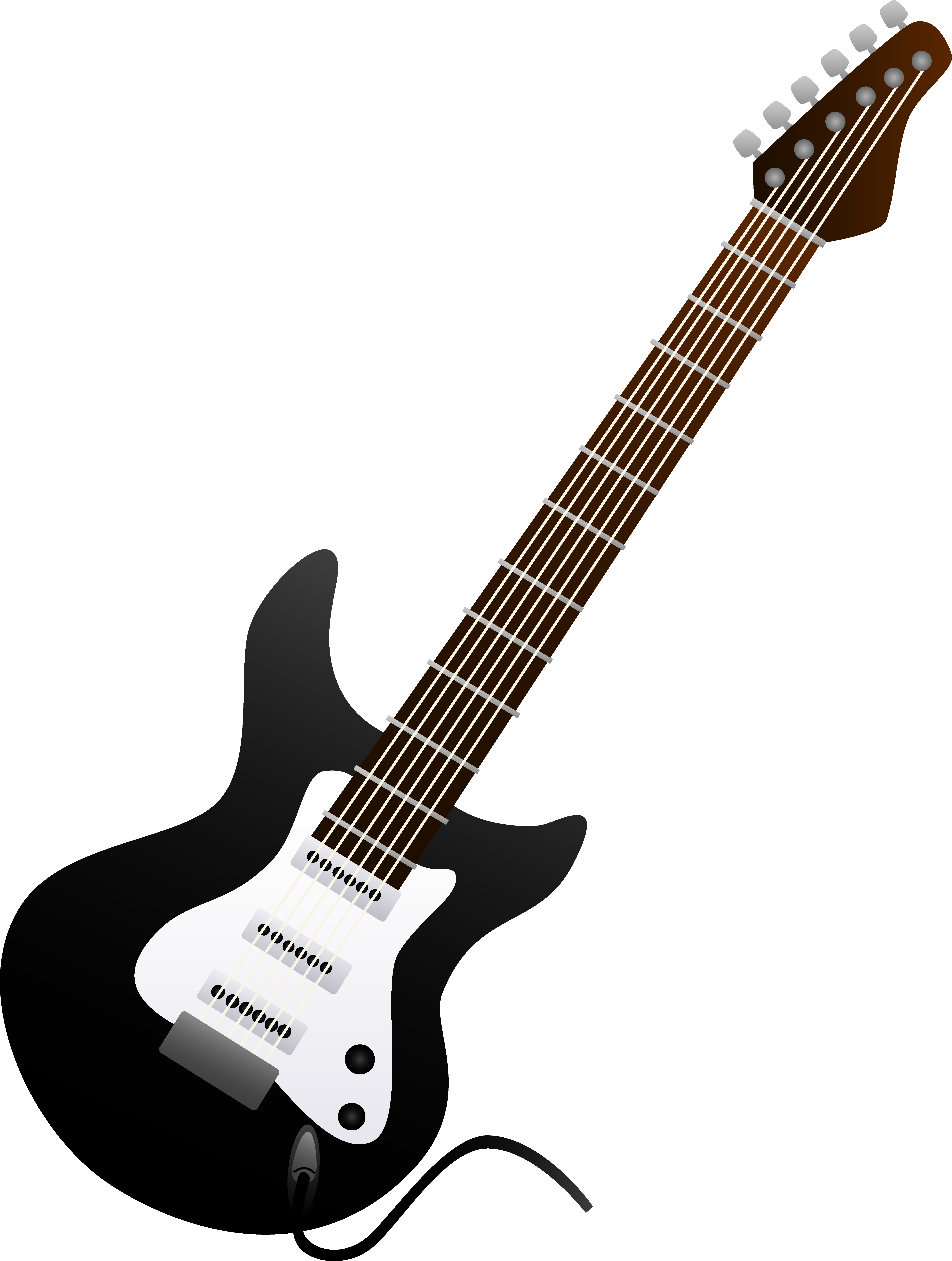 Free Clipart Of Guitar
